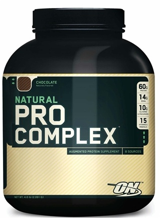 DROPPED: Optimum Nutrition - Natural Pro Complex Chocolate - 4.6 lbs.