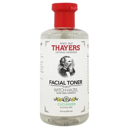 Zoom View - Witch Hazel Alcohol-Free Toner with Cucumber & Aloe Vera Formula