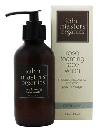 John Masters Organics - Face Wash Foaming Rose - 4 oz.