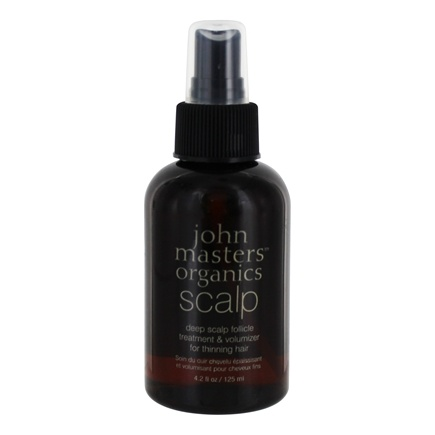 John Masters Organics - Deep Scalp Follicle Treatment and Volumizer for Thinning Hair - 4.2 oz.
