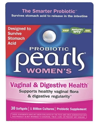 Enzymatic Therapy - Pearls YB Yeast-Balancing Probiotic - 30 Capsules