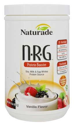 DROPPED: Naturade - NRG Protein Booster Vanilla Flavor - 15 oz.