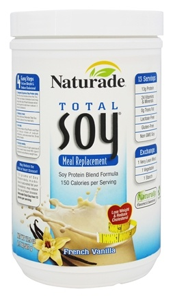 DROPPED: Naturade - Total Soy Meal Replacement French Vanilla - 17.9 oz.