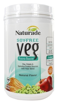 Naturade - Veg Protein Booster Soy-Free Natural Flavor - 26.63 oz.