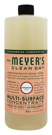 Mrs. Meyer's - Clean Day Multi-Surface Concentrate Geranium - 32 oz.