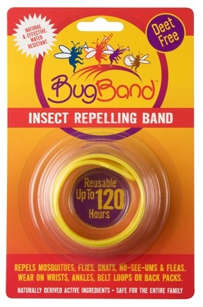 DROPPED: Bug Band - Deet Free Insect Repelling Band Yellow - 1 Band(s) CLEARANCE PRICED