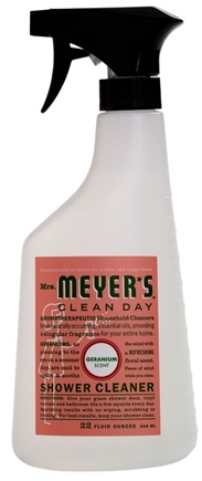 DROPPED: Mrs. Meyer's - Clean Day Shower Cleaner Geranium - 24 oz.