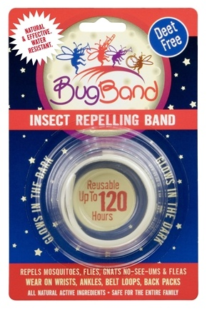 Zoom View - Deet Free Insect Repelling Band