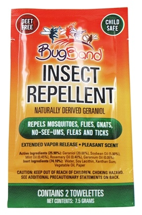 Zoom View - Insect Repelling Towelette