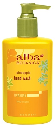 DROPPED: Alba Botanica - Alba Hawaiian Hand Wash Pineapple - 8 oz. CLEARANCE PRICED