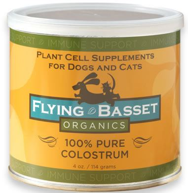 DROPPED: Flying Basset Organics - Immune Support 100% Pure Colostrum - 4 oz.