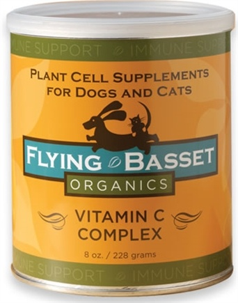 DROPPED: Flying Basset Organics - Immune Support Vitamin C Complex - 8 oz. CLEARANCE PRICED