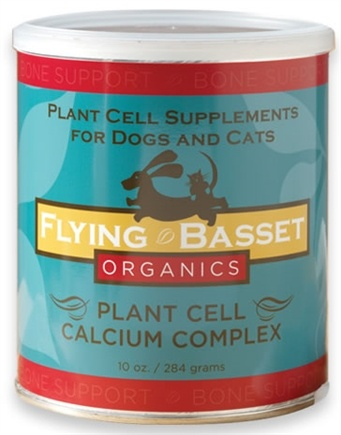 DROPPED: Flying Basset Organics - Bone Support Plant Cell Calcium Complex - 10 oz.