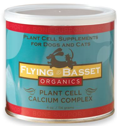 DROPPED: Flying Basset Organics - Bone Support Plant Cell Calcium Complex - 4 oz.