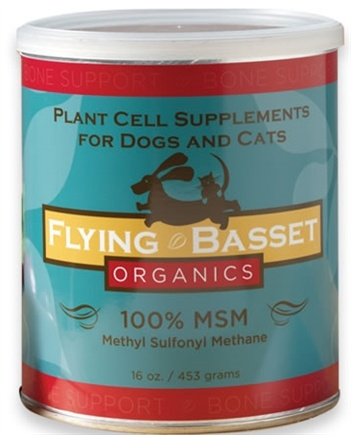 DROPPED: Flying Basset Organics - Bone Support 100% MSM Methyl Sulfonyl Methane - 16 oz.