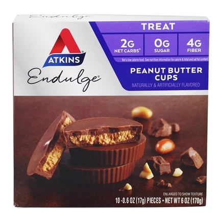 Atkins Nutritionals Inc. - Endulge Peanut Butter Cups - 5 Pack