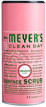 DROPPED: Mrs. Meyer's - Clean Day Surface Scrub Geranium - 11 oz.