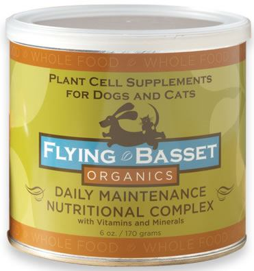 DROPPED: Flying Basset Organics - Whole Food Daily Maintenance Nutritional Complex With Vitamins And Minerals - 6 oz.
