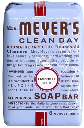 DROPPED: Mrs. Meyer's - Clean Day All Purpose Bar Soap Lavender - 8 oz.