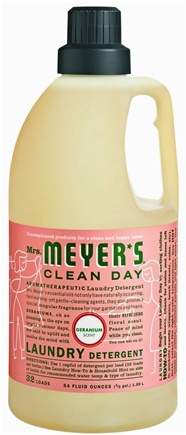 DROPPED: Mrs. Meyer's - Clean Day Laundry Detergent Geranium - 64 oz.