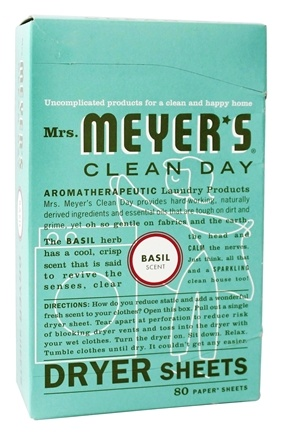Zoom View - Clean Day Dryer Sheets