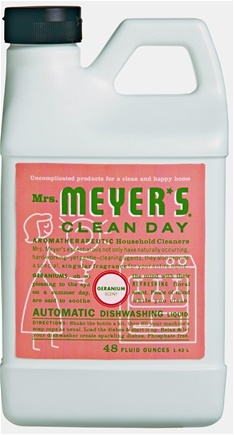 DROPPED: Mrs. Meyer's - Clean Day Automatic Dishwashing Liquid Geranium - 48 oz.