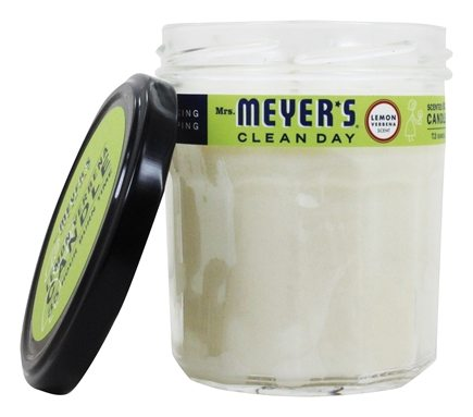 Mrs. Meyer's - Clean Day Scented Soy Candle Lemon Verbena - 7.2 oz.