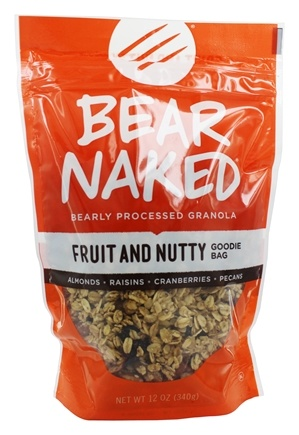 Bear Naked -  Granola 100% Pure & Natural Fruit and Nut - 12 oz.