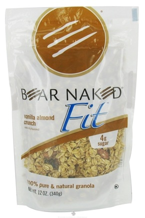 DROPPED: Bear Naked - Fit Granola 100% Pure & Natural Vanilla Almond Crunch - 12 oz. CLEARANCE PRICED