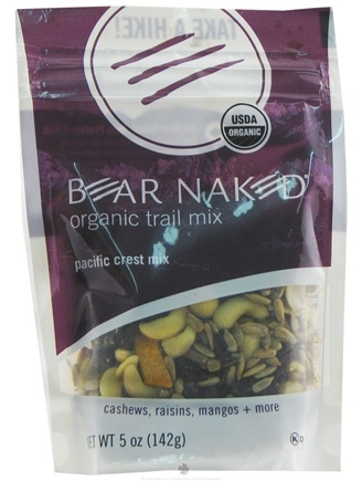 DROPPED: Bear Naked - Organic Trail Mix Pacific Crest Mix - 5 oz.