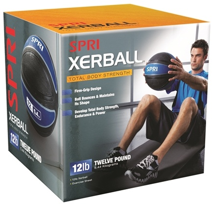 DROPPED: SPRI - Xerball Medicine Ball - 12 lbs.