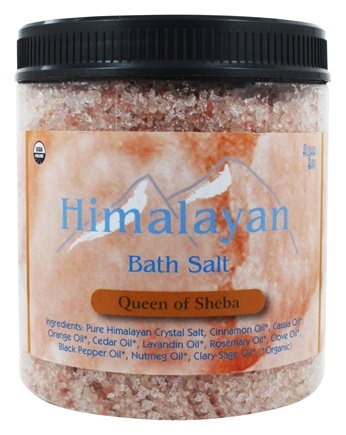 Himalayan Salt - Bath Salt Queen of Sheba by Aloha Bay - 24 oz.