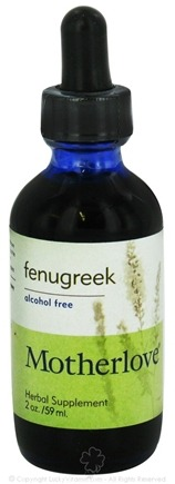DROPPED: Motherlove - Fenugreek Alcohol Free - 2 oz. CLEARANCE PRICED