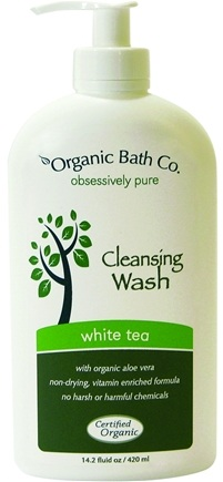 DROPPED: Organic Bath Company - Cleansing Wash White Tea - 14.2 oz.