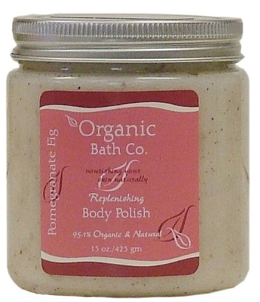 DROPPED: Organic Bath Company - Replenishing Body Polish Pomegranate Fig - 15 oz. CLEARANCE PRICED