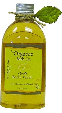 DROPPED: Organic Bath Company - Gentle Body Wash Honey Chai - 9 oz. CLEARANCE PRICED