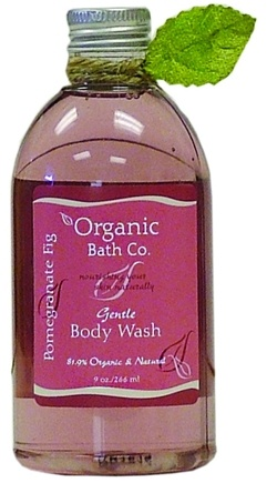 Zoom View - Gentle Body Wash Pomegranate Fig CLEARANCE PRICED