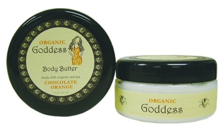 Zoom View - Organic Goddess Luscious Body Butter Chocolate Orange