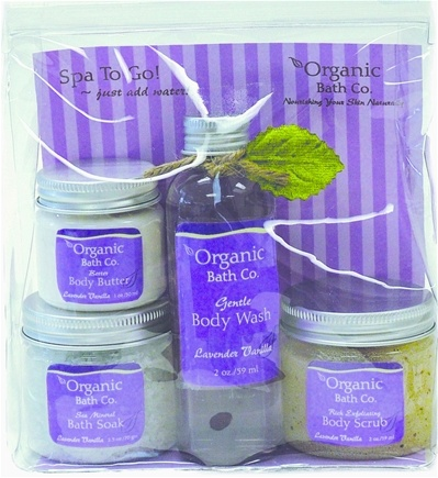 DROPPED: Organic Bath Company - Spa To Go Gift Set Lavender Vanilla