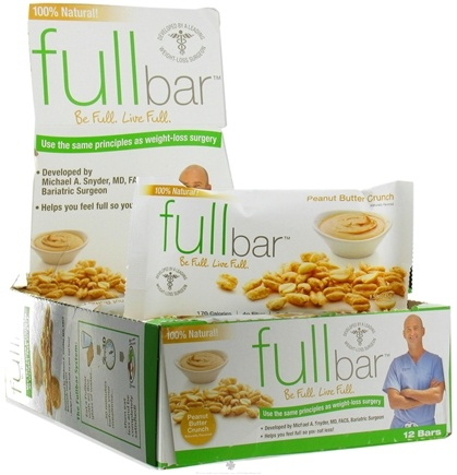 DROPPED: Full Bar - Weight Loss Bar Peanut Butter Crunch - 1.59 oz.