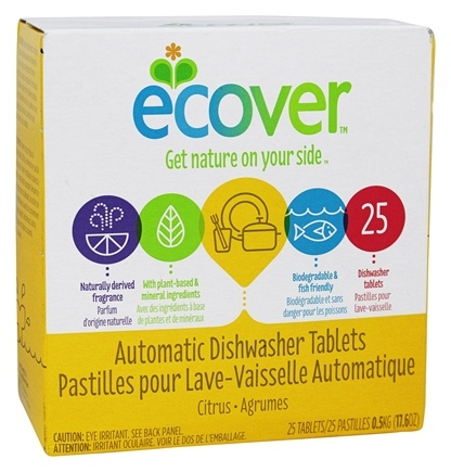 Zoom View - Ecological Automatic Dishwasher Tablets 25 Loads