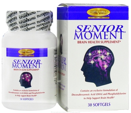 DROPPED: Nutramax Labs - Senior Moment - 30 Softgels