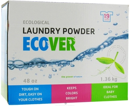 DROPPED: Ecover - Ecological Laundry Powder 19 Loads - 48 oz. CLEARANCE PRICED