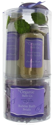 DROPPED: Organic Bath Company - A Little Luxury Gift Set Lavender Vanilla - CLEARANCE PRICED