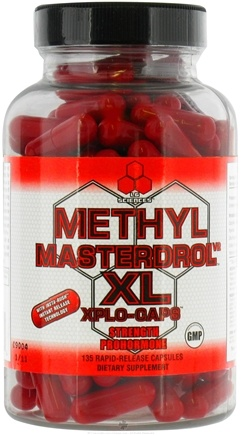 Zoom View - Methyl Masterdrol XL Strength Prohormone