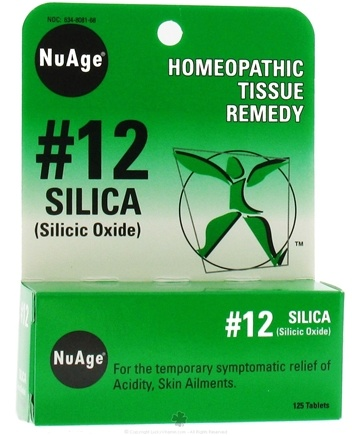 Zoom View - #12 Silica Homeopathic Tissue Remedy