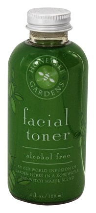 Honeybee Gardens - Facial Toner Alcohol Free - 4 oz.