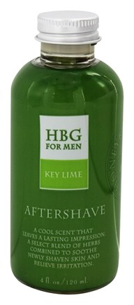DROPPED: Honeybee Gardens - For Men Aftershave Key Lime - 4 oz.