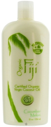 DROPPED: Organic Fiji - Virgin Coconut Oil Cucumber Melon - 12 oz. CLEARANCE PRICED