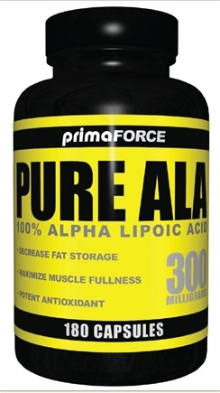 DROPPED: Primaforce - Pure Alpha Lipoic Acid 300 mg. - 180 Capsules CLEARANCE PRICED